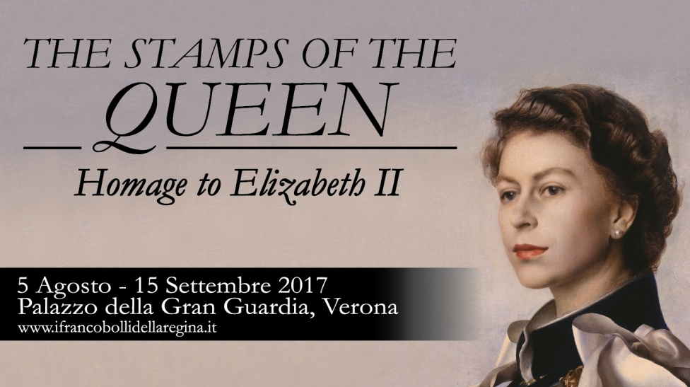 The stamps of the Queen - Homage to Elizabeth II