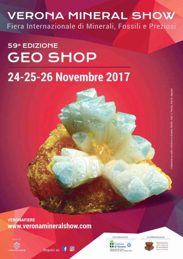 fiera internazionale di minerali, fossili e preziosi.