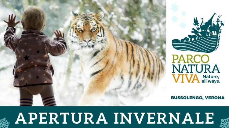 Apertura invernale al Parco Natura Viva