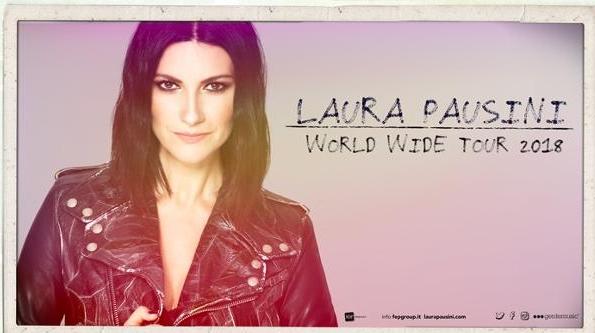 Concerto di Laura Pausini in Arena a Verona